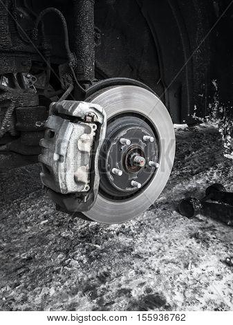 Replacing Wheel On New Suv Car
