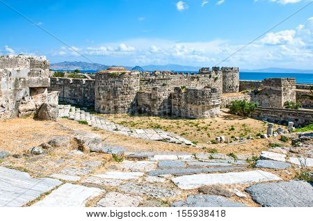 Greece Dodecanese Kos the Knights of St. John castle