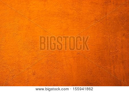 Vertical Grunge Orange Wall Texture Background