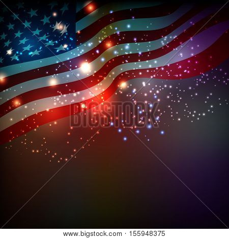 Abstract background for 4th of July Independense Day