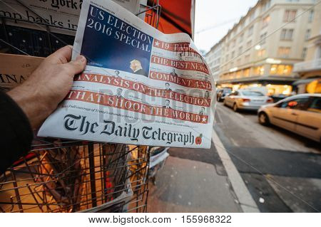 The Daily Telegraph About Donald Trump New Usa President