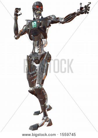 Cyborg 3000-Fight