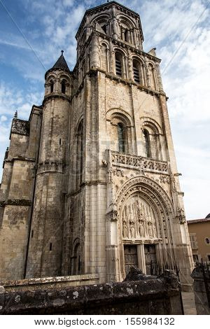 Church of Sts. Radegund at Poitiers in France