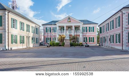 Government House In Nassau, Bahamas