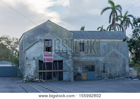 Hurricane Matthew Damage In Nassau, Bahamas