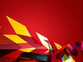 abstract eps10 colorful vector design poster