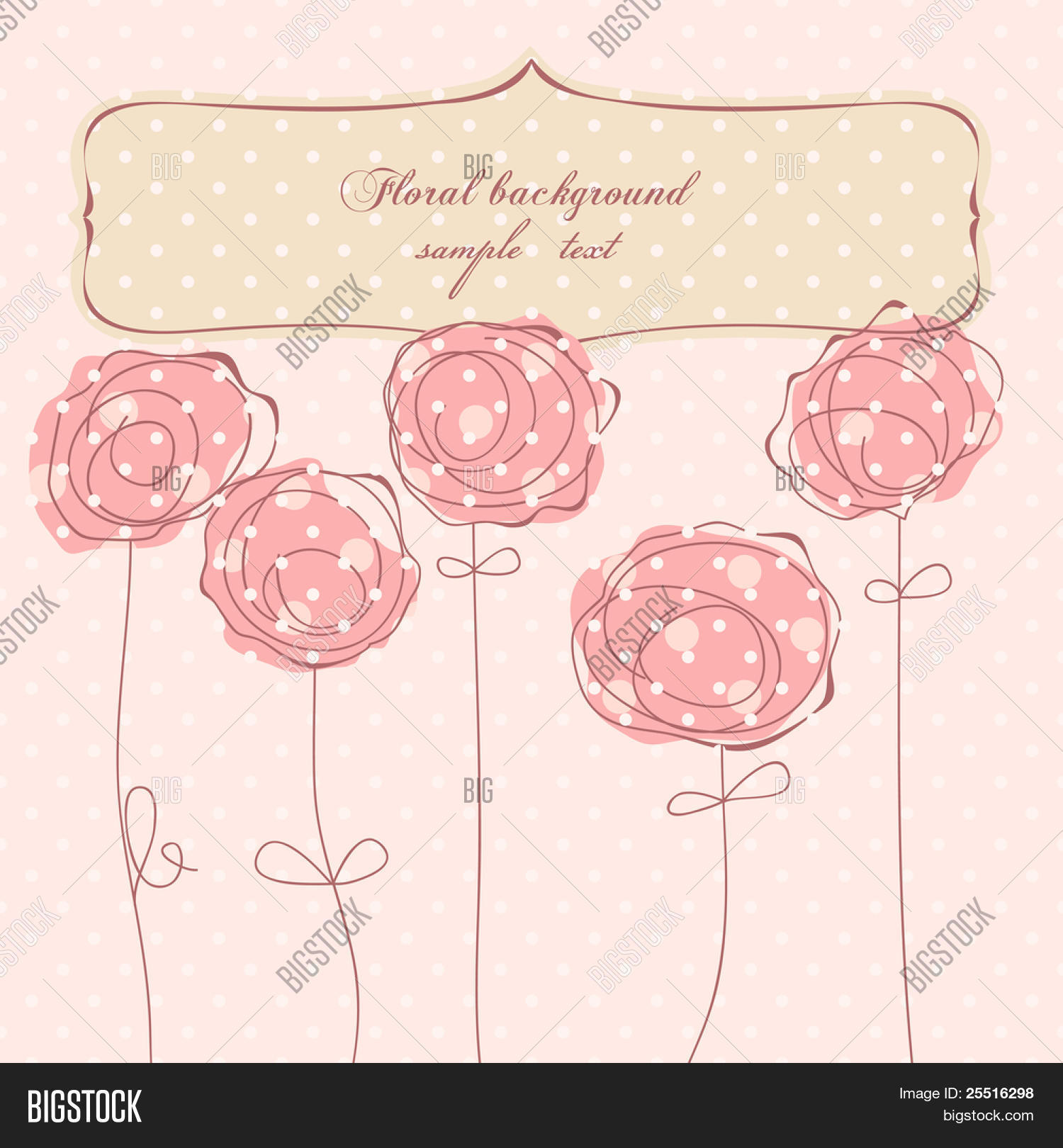 Greeting Card Frame Vector Photo Free Trial Bigstock