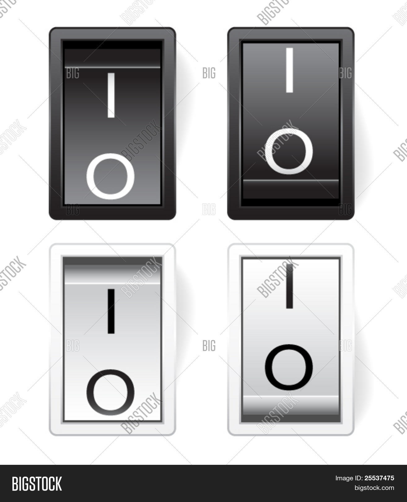 Vector Power Switch Vector Photo Free Trial Bigstock