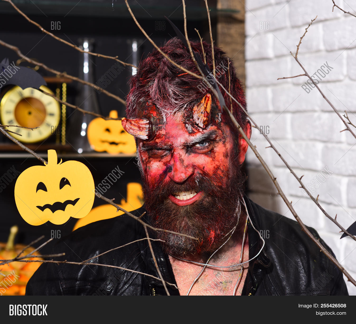 devil monster partying image & photo (free trial) | bigstock