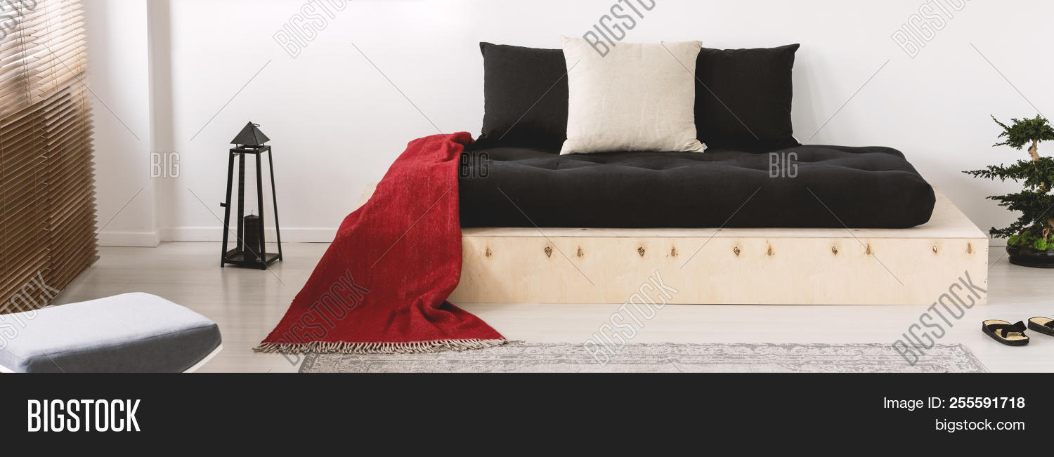 Cushions Red Blanket Image Photo Free Trial Bigstock