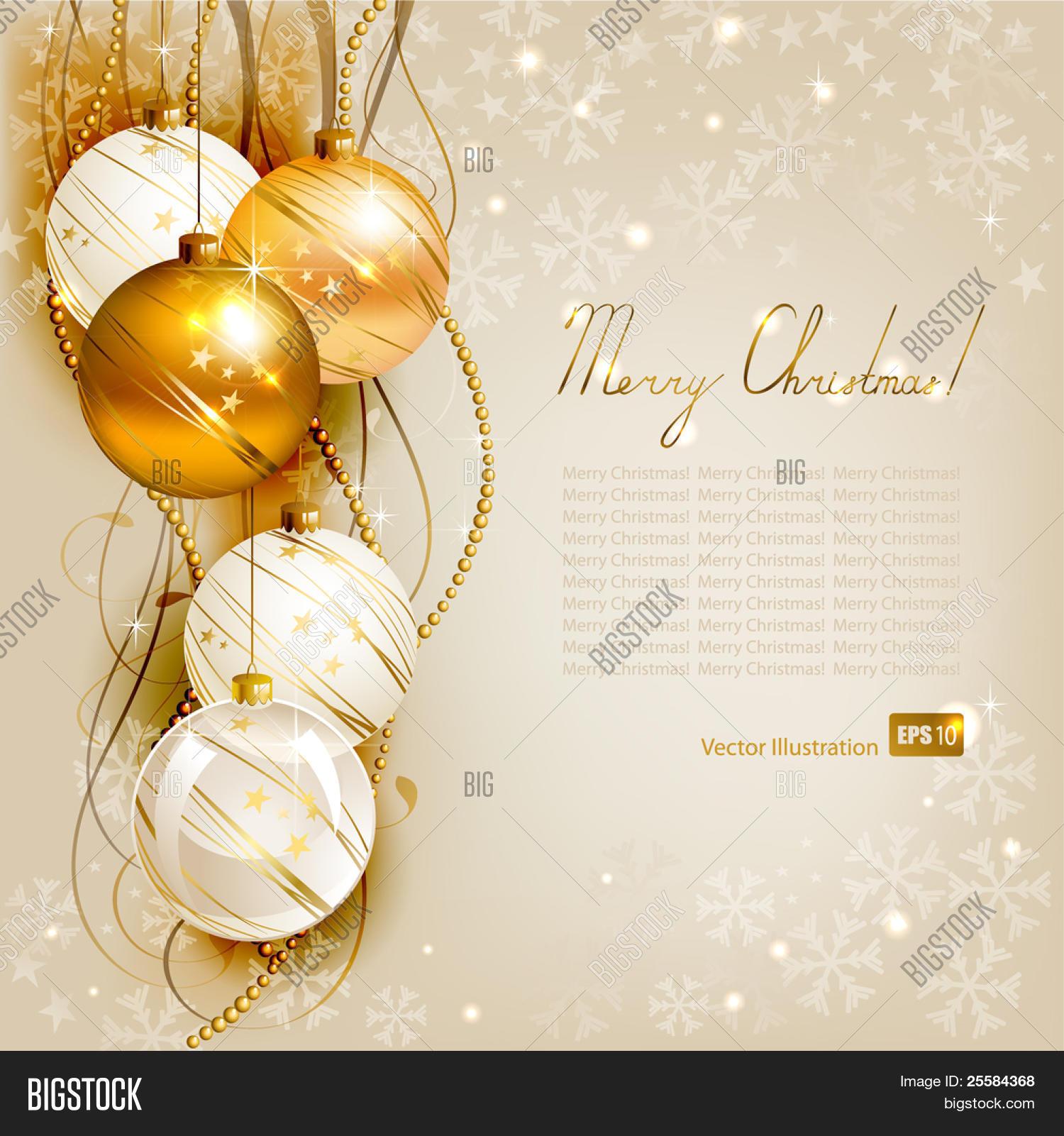 Elegant Christmas Background Hd.Elegant Christmas Vector Photo Free Trial Bigstock