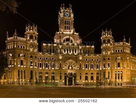Palace of Communications in Madrid