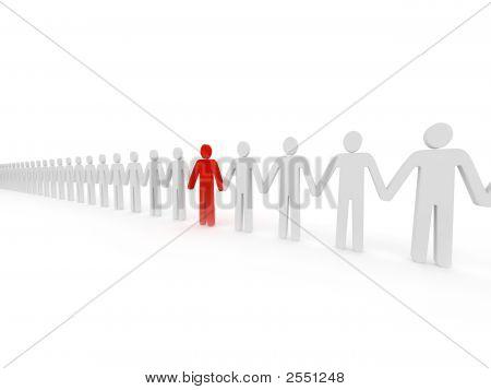 Leaders in line