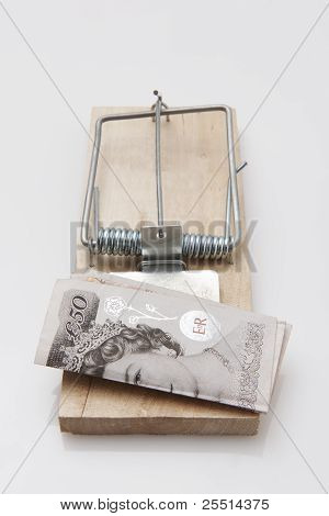 Mouse Trap 50 Pound Note