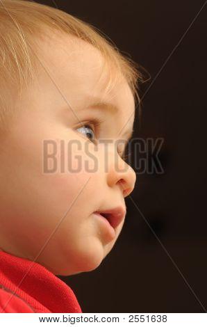 Baby Watching Tv Program