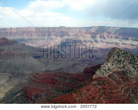 Grand Canyon At Days End