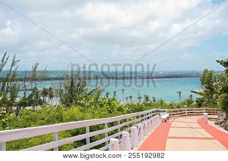 Walkway To Arecibo Lighthouse