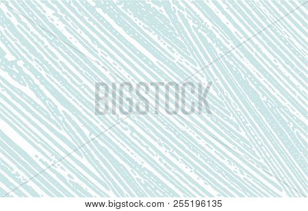 Grunge Texture. Distress Blue Rough Trace. Comely Background. Noise Dirty Grunge Texture. Valuable A