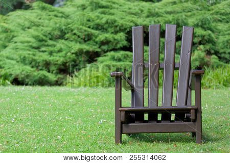 Wooden Chair For Relaxing In The Nature
