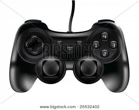 Illustration of Game pad Joystic