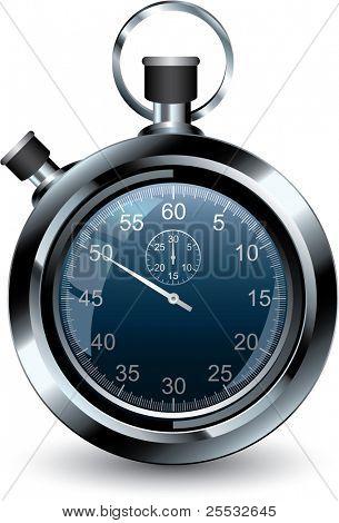 Vector illustration of stopwatch