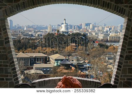 The Aerial View Of Beijing City From Top Of The Jing-shan Hill