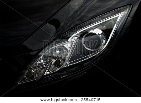 Automobile front optics