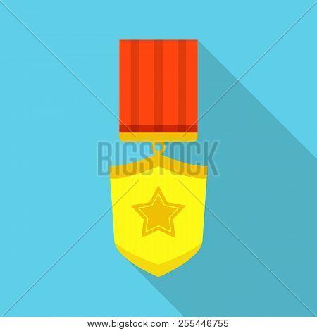 Winner Icon. Flat Illustration Of Winner Icon For Web