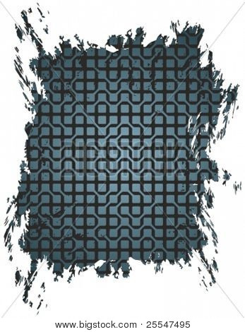 Abstract technology theme vector background.
