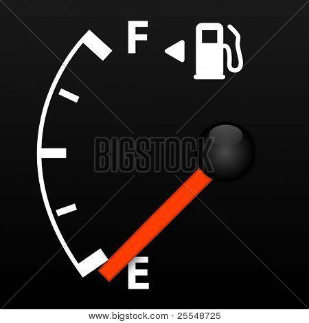 Vector Gas Gauge