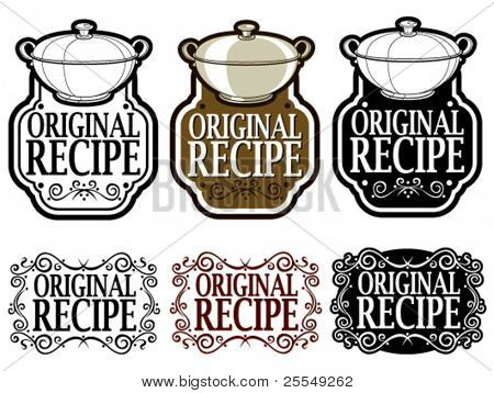 Original Recipe Seal / Mark / Icon