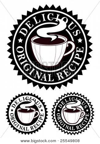 Original Recipe Emblem / Hot Drinks