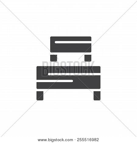 Barriers Vector Icon. Filled Flat Sign For Mobile Concept And Web Design. Business Hurdle Simple Sol