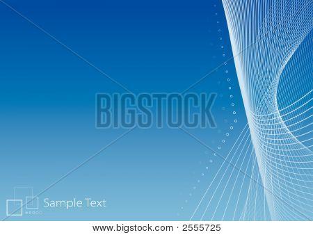 Slick Modern Background Illustration With Logo