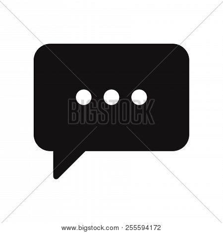Communication Icon Isolated On White Background. Communication Icon In Trendy Design Style. Communic