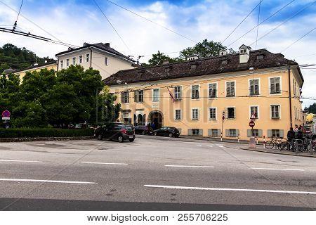 Salzburg, Austria - July 15,2017:
