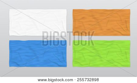 Clear Color Soft Beach Towels For Branding