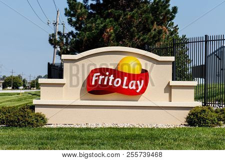 Frankfort - Circa August 2018: Frito-lay Snack Food Plant. Frito-lay Is A Subsidiary Of Pepsico That