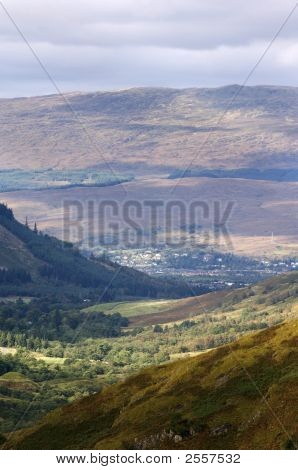 Fort William From Nevis Range