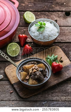 Massaman Curry: Beef, Potato, Peanuts And Coconut.