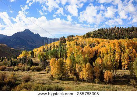 Colorado Rocky Mountains - The Dallas Divide In Autumn