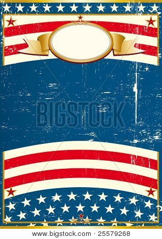 USA Grunge poster A vintage american background for a poster
