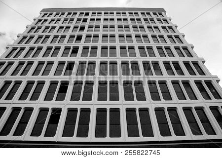 Architecture. Art Print of Building Architecture. Sky Scraper view