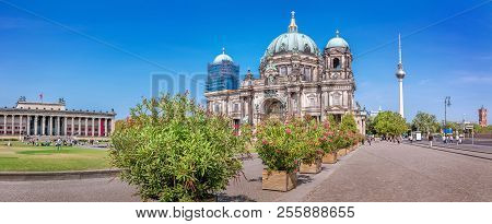 Panoramic View At The Berlin Cathedral, Berlin