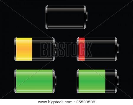 Set of Vector batteries