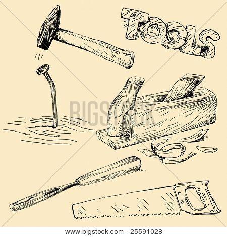 tools doodles