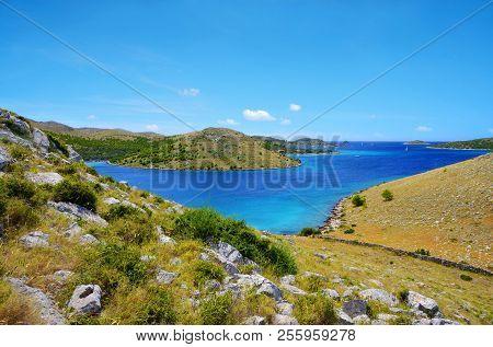 Kornati Islands National Park. Landscape In The Adriatic Sea. Croatia.