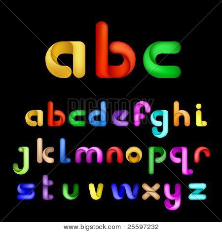 Colorful Decorative Alphabet