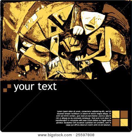 artist exhibition template