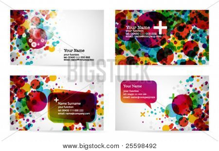 abstract business card templates 1